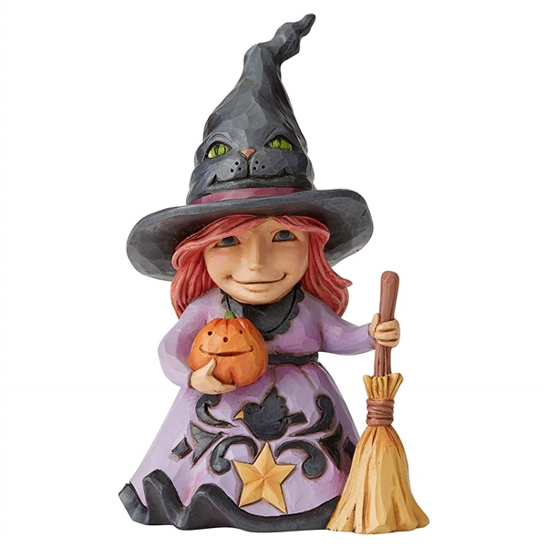 Heartwood Creek Pint Size Friendly Witch Figurine, 6004331