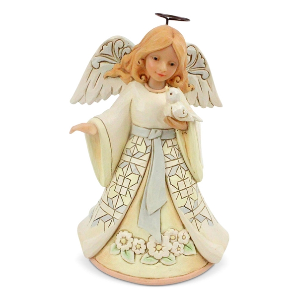 Heartwood Creek Pint Sized Woodland Angel Figurine by Jim Shore, 6004764