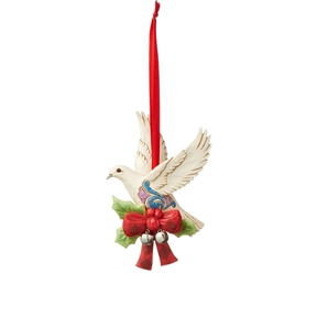Heartwood Creek Legend of the Turtle Dove Hanging Ornament by Jim Shore | 6005912