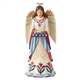 Heartwood Creek Angel with Flag Figurine by Jim Shore, 6006440