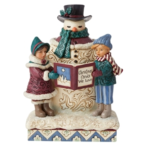 Heartwood Creek Victorian Snowman and Carolers, 6006594