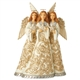 Foundations Holiday Lustre Trio of Angels Figurine, 6006611