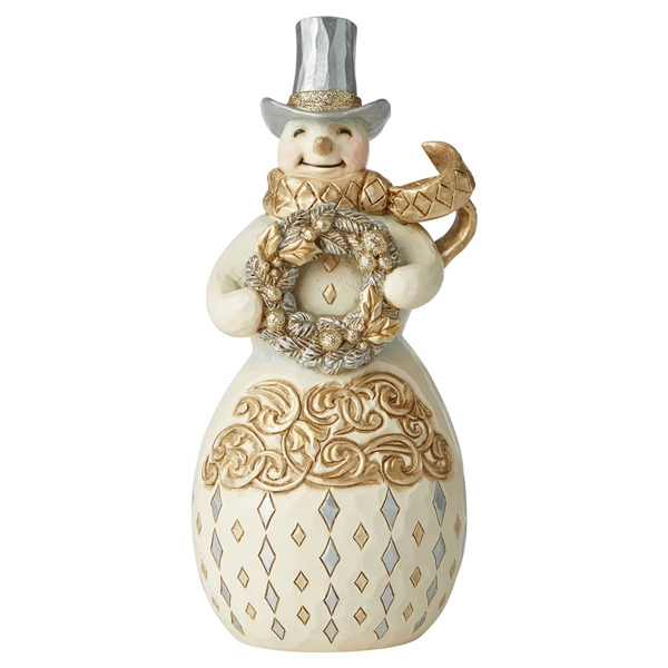 Heartwood Creek Holiday Lustre Snowman, 6006613