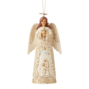 Heartwood Creek Holiday Lustre Angel Ornament, 6006617