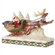Heartwood Creek Santa on Sleigh with Reindeer, 6006635
