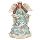 Heartwood Creek Coastal Angel with Fish Figurine by Jim Shore, 6006688