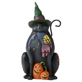Heartwood Creek Pint Sized Halloween Cat, 6006697