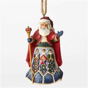 Heartwood Creek Spanish Santa Hanging Ornament by Jim Shore 4053837