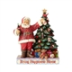 Coca Cola Santa Decorating Christmas Tree Figurine by Jim Shore, 4059472
