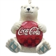 Coca Cola Polar Bear with Coke Logo Hanging Ornament by Jim Shore