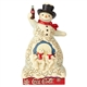 Coca Cola Snowman Figurine by Jim Shore, 6001000
