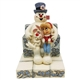 Frosty and Karen on Ice Cube Chair Figurine by Jim Shore, 6007343