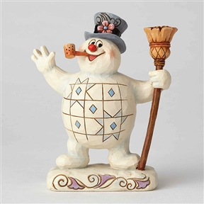 Frosty the Snowman with Broom Figurine by Jim Shore