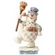 Marching Frosty with Parade Scene Figurine by Jim Shore