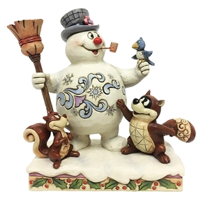 Frosty and Woodland Friends Figurine by Jim Shore 6001583
