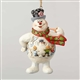 Frosty with Kid Scene Ornament by Jim Shore