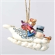 Frosty and Karen Sledding Ornament by Jim Shore 6001587