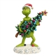 Grinch Stealing Christmas Tree Figurine by Jim Shore 6002067