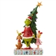 Grinch, Max and Cindy by Tree Figurine by Jim Shore, 6006567