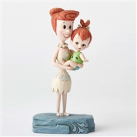 Heartwood Creek Wilma and Pebbles Figurine by Jim Shore