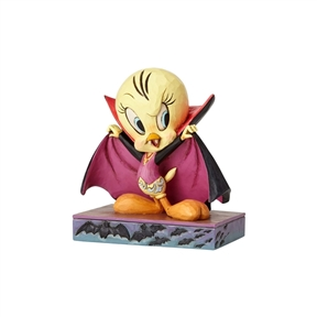 Looney Tunes Vampire Tweety Bird Figurine 4052813