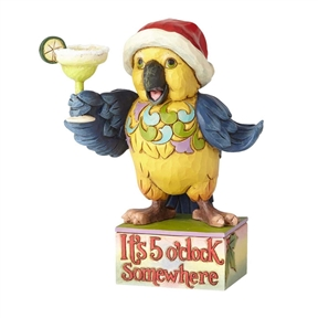 Margaritaville By Jim Shore Pint Sized Parrot Figurine 4059123