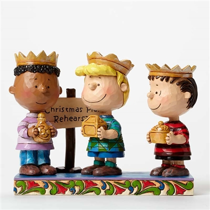 Three Wise Men Peanuts Figurine by Jim Shore, 4045874