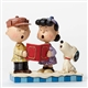 Charlie Brown, Lucy and Snoopy Carolling - Peanuts Figurine by Jim Shore, 4045883