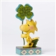 Woodstock with Four Leaf Clover Peanuts Figurine by Jim Shore