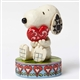 Snoopy with Heart Peanuts Figurine by Jim Shore