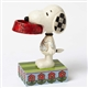 Snoopy with Dog Dish Figurine By Jim Shore