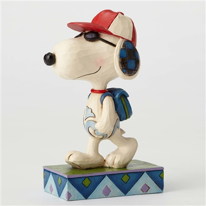 Peanuts Joe Cool (Snoopy) Student Figurine By Jim Shore