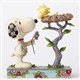 Peanut Snoopy with Woodstock in Nest Figurine by Jim Shore