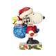 Santa Snoopy and Woodstock Peanuts Figurine by Jim Shore