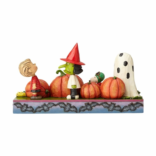 At the Pumpkin Patch Peanuts Figurine by Jim Shore