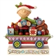 Peanuts Charlie Brown Christmas Train by Jim Shore, 6000988