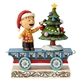 Peanuts Linus Christmas Train by Jim Shore, 6000990
