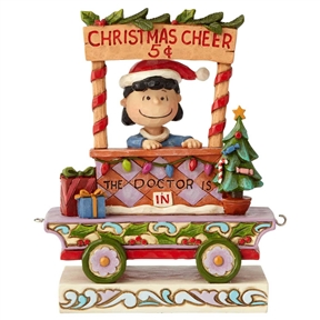 Peanuts Lucy Christmas Train by Jim Shore, 6003027