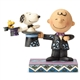 Top Hat Magician Charlie Brown - Peanuts by Jim Shore Figurine, 6001294