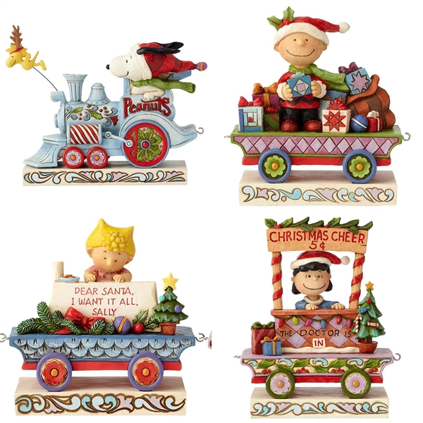 Peanuts Deluxe Train Set by Jim Shore, 6002332