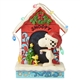 Snoopy by Dog House Peanuts by Jim Shore Figurine, 6002771