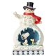 Snowman with Snoopy Scene Peanuts by Jim Shore Figurine, 6002774