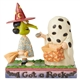 Peanuts Charlie Brown & Lucy Halloween Figure by Jim Shore, 6002775