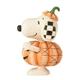 Peanuts Snoopy Pumpkin Mini Figure by Jim Shore, 6002777