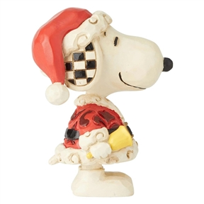 Mini Snoopy Santa Peanuts by Jim Shore Mini Figurine, 6002778
