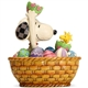 Snoopy and Woodstock Easter Basket - Peanuts by Jim Shore Figurine, 6005945