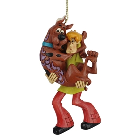 Shaggy Holding Scooby-Doo Ornament by Jim Shore, 6007255