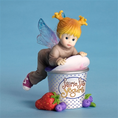 Cup of Yogurt - My Little Kitchen Fairies Figurine, 4029709