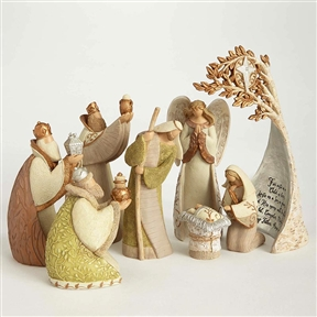 Legacy of Love Nativity 8-Piece Figurine Set, 4058558