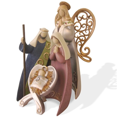 Holy Family Nativity Figurine Set - Legacy of Love, 4036411